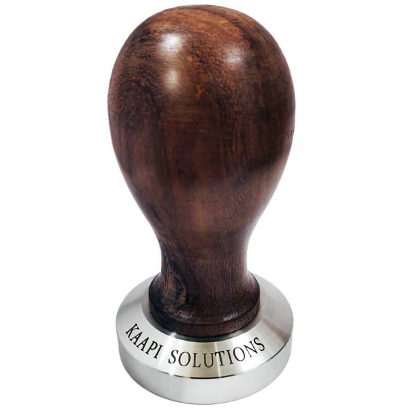 Rustic Wooden handle TAMPER 58 MM